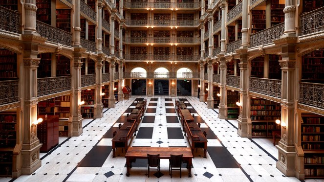 archivum - george peabody library baltimore